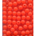 Fish Egg Beads Steelhead Orange 6mm x 30pc